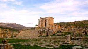 Monuments de Djemila-Sétifois-photo Dallet