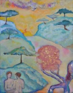 """""""Paradis"""" (techniques mixtes, 2010, Dallet)"""